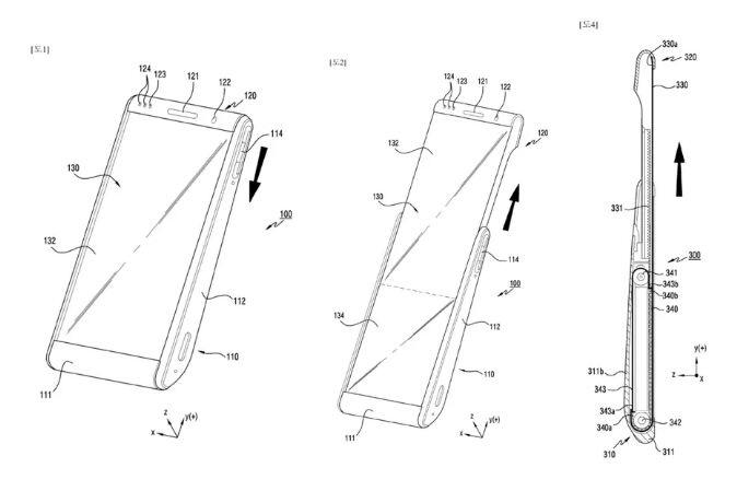 三星新专利曝光!可折叠屏手机尚且回炉再造,又将目光瞄准滚动屏手机