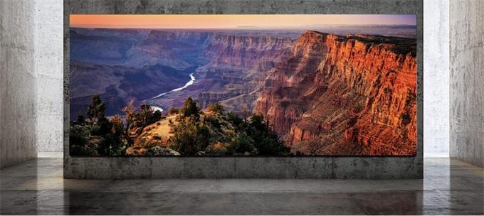 """屏幕定制、无需关机、画质设计惊艳…三星The Wall Luxury巨幕电视太""""壕""""!"""