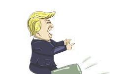 """特朗普发推斥谷歌为希拉里""""拉票"""",但援用的证据让人大跌眼镜"""
