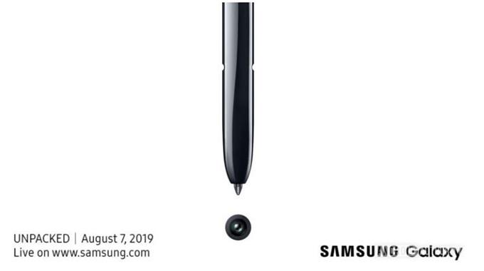 前置单摄?三星Galaxy Note 10官宣:8月7日纽约布鲁克林见!