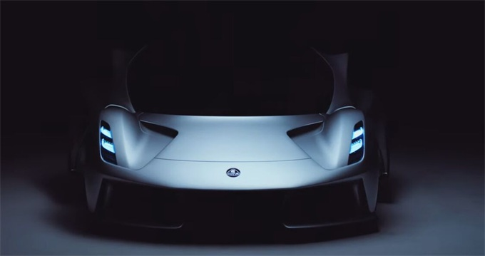 莲花推出第一款Evija电动跑车 四个电动马达每小时可达200英里