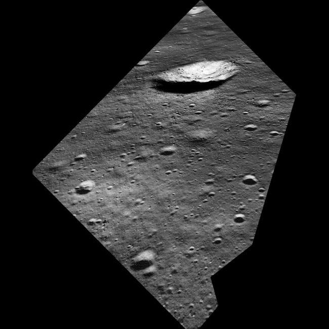 LROC模擬阿姆斯特朗的登月情景 曾看到West隕石坑