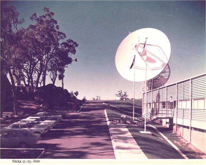 在50年前的1960年代,NASA是如何跟阿波罗计划飞船通信的?