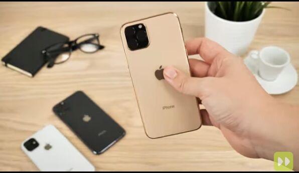 北京时间:苹果iPhone 11上手视频泄露:外形、尺寸不变,浴霸三摄辣眼睛!