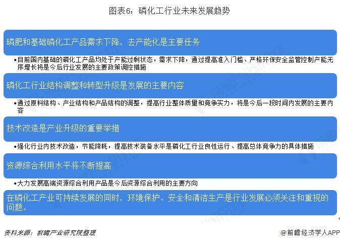 圖表6:磷化工行業未來發展趨勢