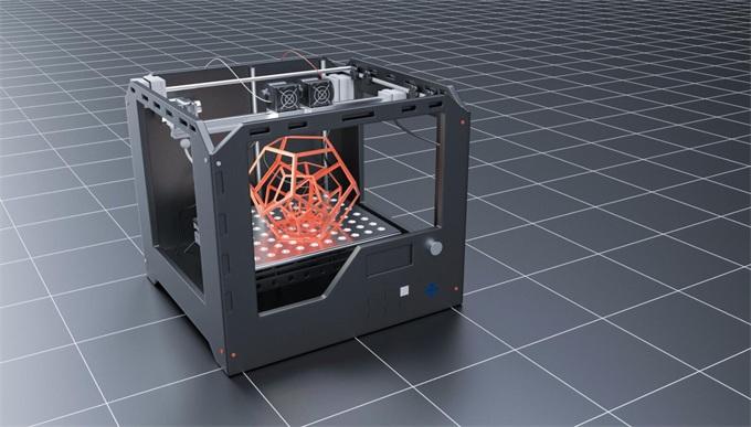 现代专业塑料3D打印机