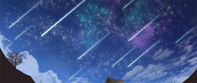 夏夜常客!英仙座流星雨今晚翩翩来临 最大流星数可达110颗