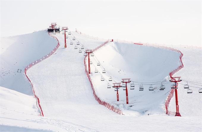 新疆冬季滑雪场模式旅游经济发展特色小镇