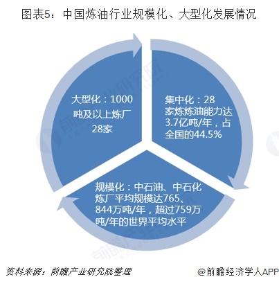 图表5:中国炼油行业规模化、大型化发展情况