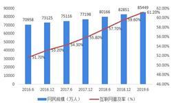十张图带你看2019年上半年中国互联网行业发展现状,<em>在线教育</em>用户规模增长最快