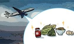 """漫说   从""""养猪模式""""到只有一块面包,飞机餐为何大幅缩水?"""