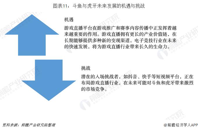 圖表11:斗魚與虎牙未來發展的機遇與挑戰
