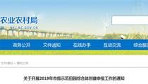 南昌市级示范田园综合体申报创建指南(申报程序+材料)