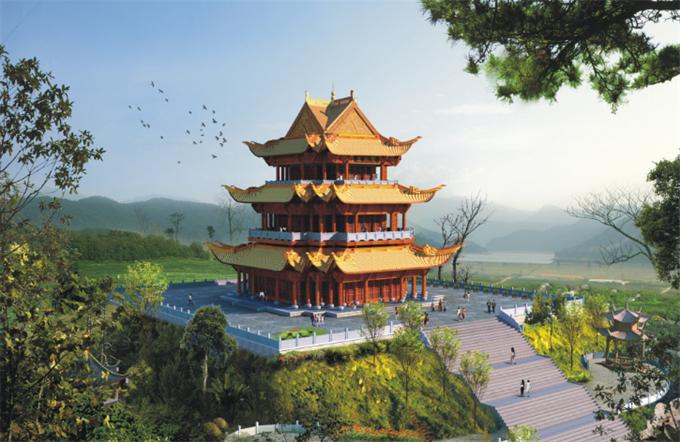 鄱阳湖国际度假村修建性规划