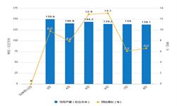 2019年1-8月全国<em>天然气</em>产量及增长情况分析