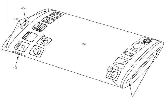 苹果为环绕屏申请延续专利 至少包含透明外壳和柔性屏幕