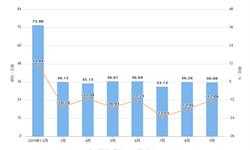 2019年9月河南省十种<em>有色金属</em>产量及增长情况分析