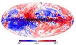 """借助两台望远镜,天文学家给银河系磁场做了一次超高清""""3D映射"""""""
