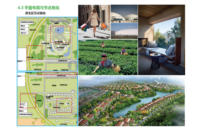 以岭·明日中医药养生国际小镇概念规划设计