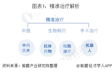 图表1:精准治疗解析