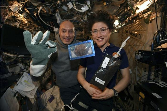 第一批太空饼干!国际空间站宇航员成功在太空烘焙曲奇饼干