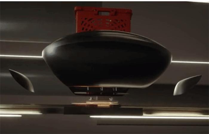 """物流版""""超级高铁""""来袭 """"磁悬浮+低真空""""让货舱几毫秒内穿过运输管道"""
