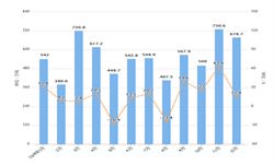 2019年12月我国<em>成品油</em>出口量及金额增长情况分析