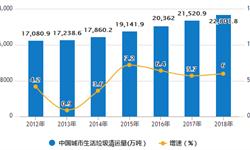 2020年中国<em>垃圾</em>处理行业市场现状及发展新葡萄京娱乐场手机版 四大细分领域将成为发展重点方向