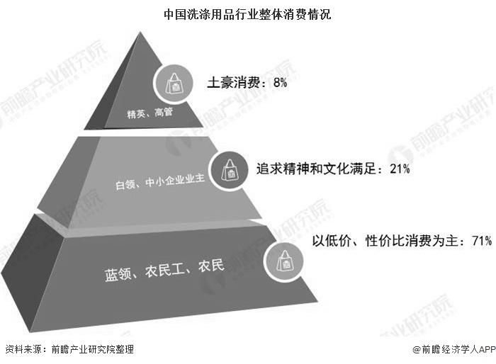 中国洗涤用品行业整体消费情况
