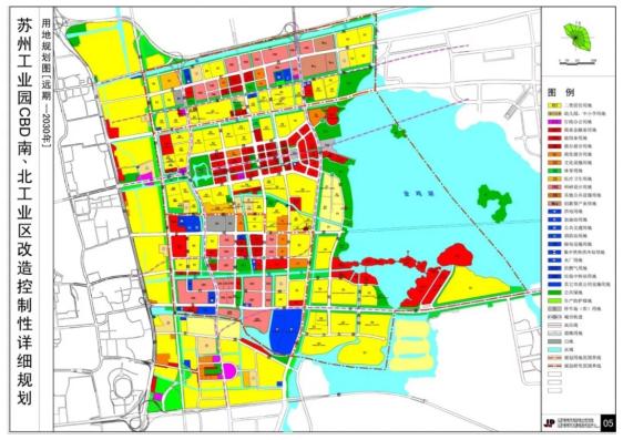 苏州工业园CBD南、北工业区改造控制性详细规划