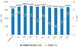 2019年中国钢铁行业市场分析:<em>粗</em><em>钢</em>产量近10亿吨 生铁产量突破8亿吨