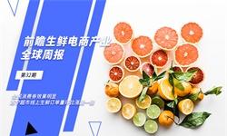 前瞻(zhan)生(sheng)鮮(xian)電商全(quan)球產(chan)業周報第32期