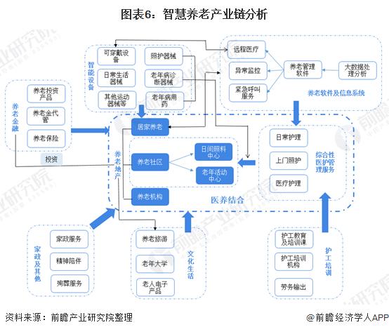 图表6:智慧养老产业链分析