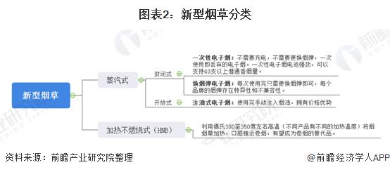 图表2:新型烟草分类