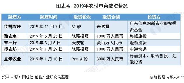 图表4:2019年农村电商融资情况
