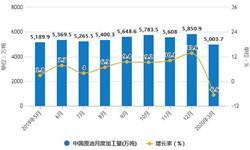 2020年1-3月中国原油行业市场分析