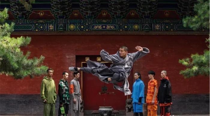 1500多岁的少林寺首秀,秀出了功夫国潮新风尚