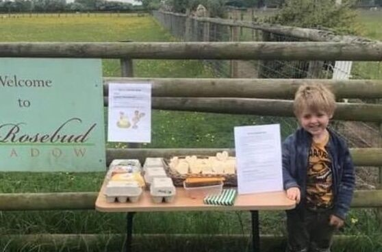 良心呢?英国5岁男童设诚实商店钱箱被抱走 被迫提前面对成人社会丑恶