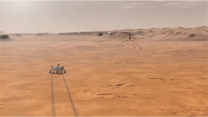 里程碑!人类直升飞机将首次在另一世界飞行,未来或开启行星探测新途径