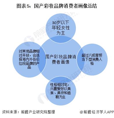 图表5:国产彩妆品牌消费者画像总结