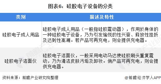 图表6:硅胶电子设备的分类