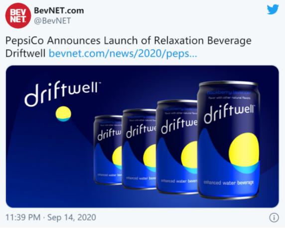 """添加氨基酸!百事可乐将推首款助眠饮料 放松减压替代""""快乐肥宅"""""""