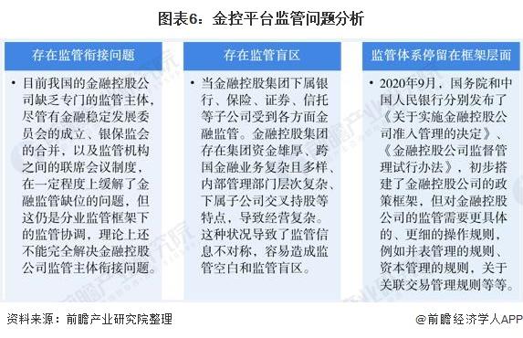 图表6:金控平台监管问题分析