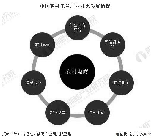 中国农村电商产业业态发展情况