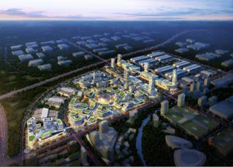 河南某物流特色小镇核心区规划案例