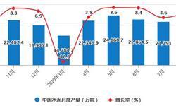 2020年1-8月中国水泥行业市场分析:累计产量超14亿吨