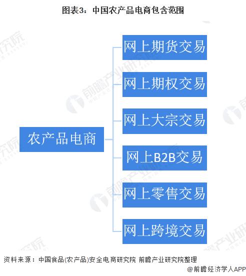 图表3:中国农产品电商包含范围