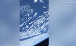 """從SpaceX""""龍飛船""""太空艙看地球是什么體驗?NASA宇航員拍下一段太空視頻!"""