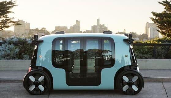 亚马逊子公司推出无人驾驶电动车:没有方向盘可坐4人 一次充电跑16小时