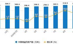 2020年1-9月中国<em>制盐</em>行业产量现状分析 纯碱累计产量突破2000万吨